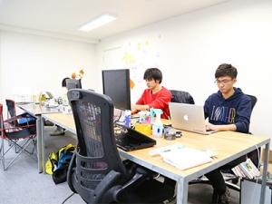 オフィスはEastVenturesが運営する渋谷のシェアオフィス。渋谷駅徒歩3分の好立地です!