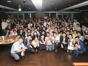 3周年記念パーティの様子。ストリートアカデミーで活躍する講師さんがたくさん来てくださいました!