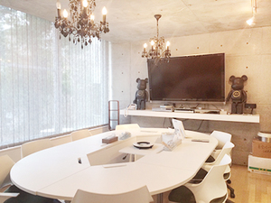 デザイン事務所などが多数入居しているオフィスです。