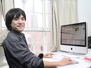 Webディレクターの安田です。明るいオフィスで一緒に働きましょう♪