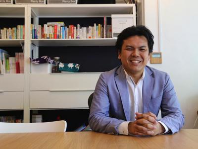 代表の神崎です。一緒に会社を大きくしてくれる熱い学生のご応募待ってます!