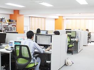 3月に移転したばかりの広々明るいオフィス★