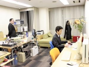 若い社員も活躍する風通しのいいオフィスです☆