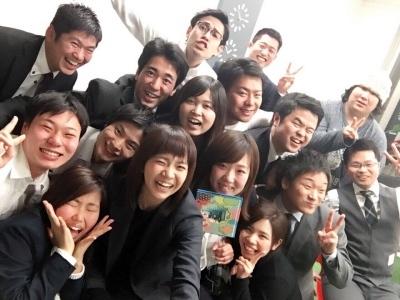 社員も若く、学生も多い職場です!