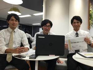 当社で奮闘中の学生インターン生の皆さんです。彼らの成長に社員も刺激をもらっています!
