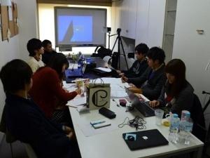 会議にはインターン生も参加出来ます。