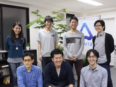 appArray株式会社【AI英会話コンテンツ編集】