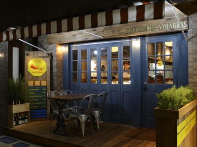 シャルキュトリーを中心とした肉特化型フレンチ店「BOUCHERIE AmiaBras」