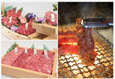 七輪で食べる炭火焼肉を提供。全ての席に日本から輸入したダクトを設置し、煙の心配をせずに楽しめます◎