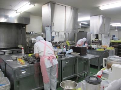 施設に入居されている方の毎日の食事を作る、とてもやりがいのある仕事です!