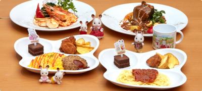 埼玉レイクタウン内の洋食レストラン。人気キャラクターになり切って、ホールスタッフとしてご活躍を!