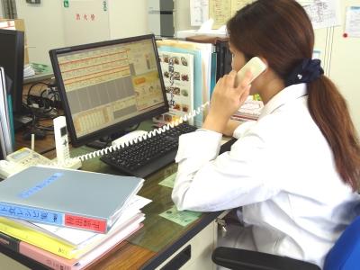 病院での栄養士業務(お客様と電話での調整も‼)