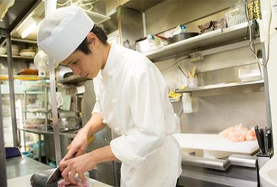 経験を活かして、お客様においしい料理を提供してください!