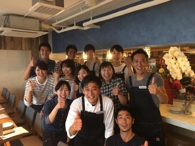 新宿にあるイタリアンバル・肉ビストロの3店舗で店舗スタッフを募集します!