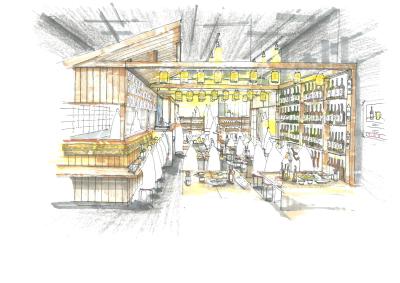 7月オープン大衆居酒屋「アメリカ」自社でデザイン、施工したこだわりの店舗です。