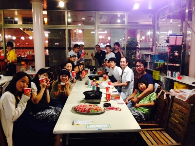 名古屋にあるラーメン店2店舗で店舗スタッフ募集!2店合同の食事会なども行なっています!