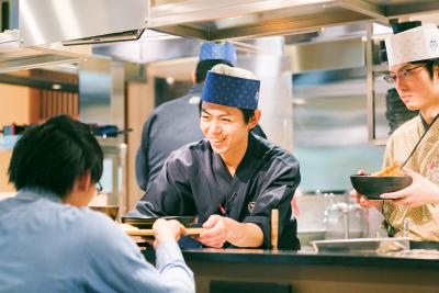 首都圏のビジネス街を中心に展開する日本そばチェーン店で働きませんか?