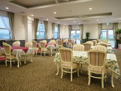 リゾートホテルの1階にある創作イタリアンレストランです。