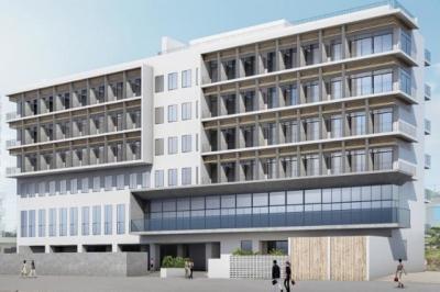 宮古島・下里の海岸沿いにできる、アクティブツーリストをメインターゲットにしたコンテンツ複合型ホテル。