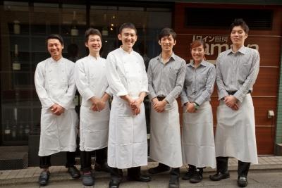 最高の料理でお客様をおもてなしする、その歓びを感じてください!