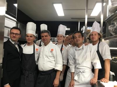 イタリアで、和食+イタリアン=和タリアンの料理を作るコラボイベントをしました。