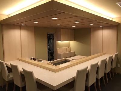 9月1日にリニューアルオープンする本格江戸前寿司店です。