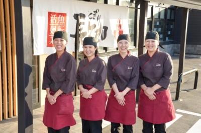 滋賀、守山・膳所・草津の3店舗で寿司職人を募集!