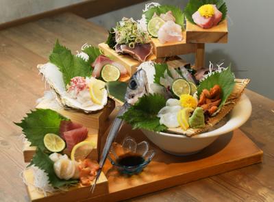 新鮮な魚を使った料理をご用意。