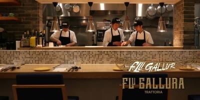 本店「Cucina Italiana Gallura」の味を受け継ぎつつ、 より親しみやすい雰囲気。