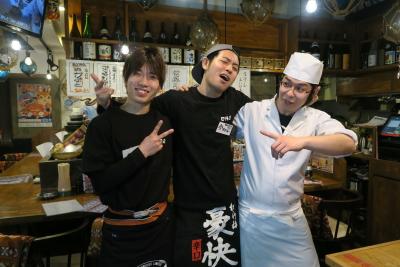 「良い魚・良い肴・良い酒菜・良い酒場」がコンセプトのお店です!