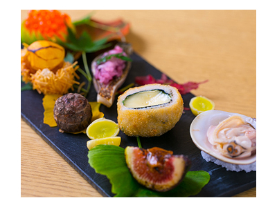大阪・堂島にある、現代的な日本料理のお店でアルバイトしよう♪