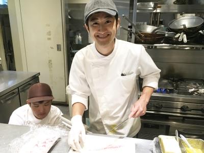 グランフロント大阪で人気のカジュアルリストランテで、キッチンスタッフ募集!