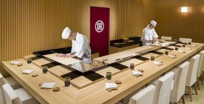 マカオにあるミシュラン1つ星獲得の高級寿司店。5つ星ホテル内に店を構える名店で腕を磨きませんか?