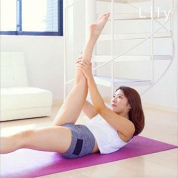 脚痩せ&お腹痩せのためのエクササイズ「シザース」