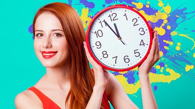 体内時計をリセット!リズムを整えて太りにくい体にしよう!