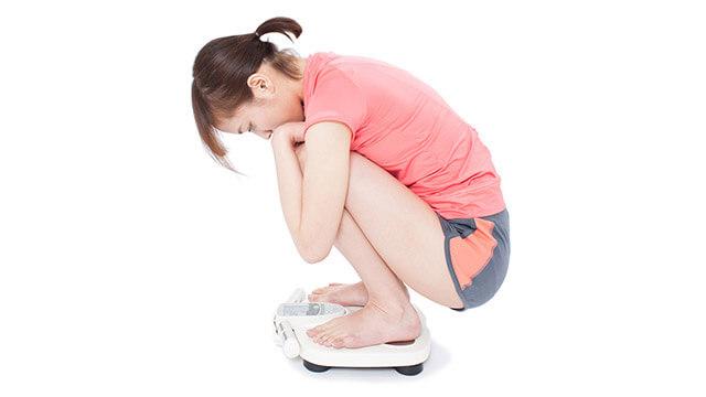 どうして痩せない?ダイエット中に体重が減らない理由①