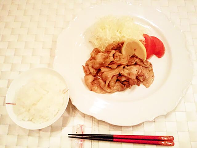 オレイン酸の力でコレステロールを抑えよう! 豚バラ肉のカラシ焼き-01