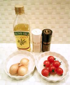 ダイエットのためのお弁当「トマトとペコロスのグリル」-01