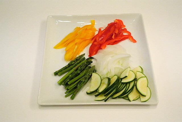 簡単ダイエットレシピ「夏野菜のさっぱりマリネ」-06