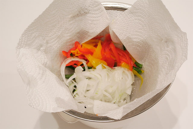 簡単ダイエットレシピ「夏野菜のさっぱりマリネ」-11