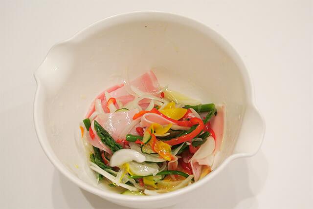 簡単ダイエットレシピ「夏野菜のさっぱりマリネ」-16