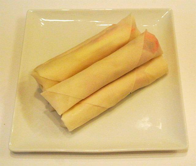 簡単にできるダイエットレシピ「野菜とハムの簡単春巻き」-07