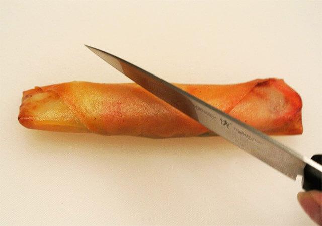 簡単にできるダイエットレシピ「野菜とハムの簡単春巻き」-10