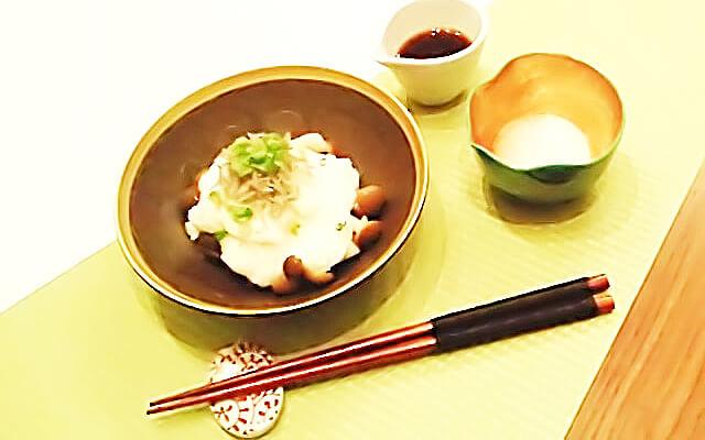 簡単にできるダイエットレシピ「きのこと山芋のさっぱりサラダ」-01