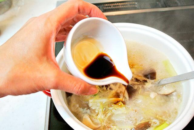 生姜と鶏肉のスープ[調理]-19