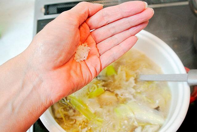 生姜と鶏肉のスープ[調理]-20