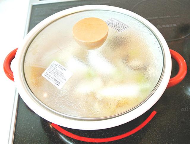 生姜と鶏肉のスープ[調理]-22