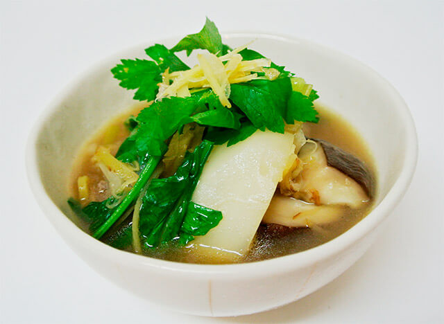 生姜と鶏肉のスープ[調理]-26
