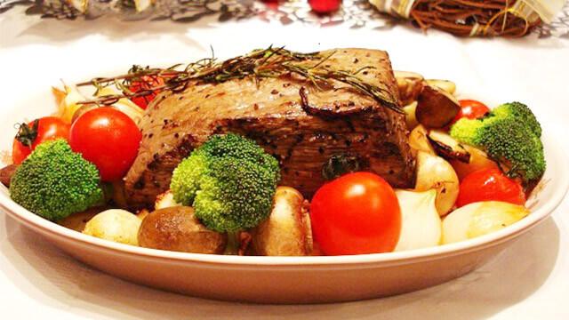 簡単ダイエットレシピ「オーブントースターで作るローストビーフ」