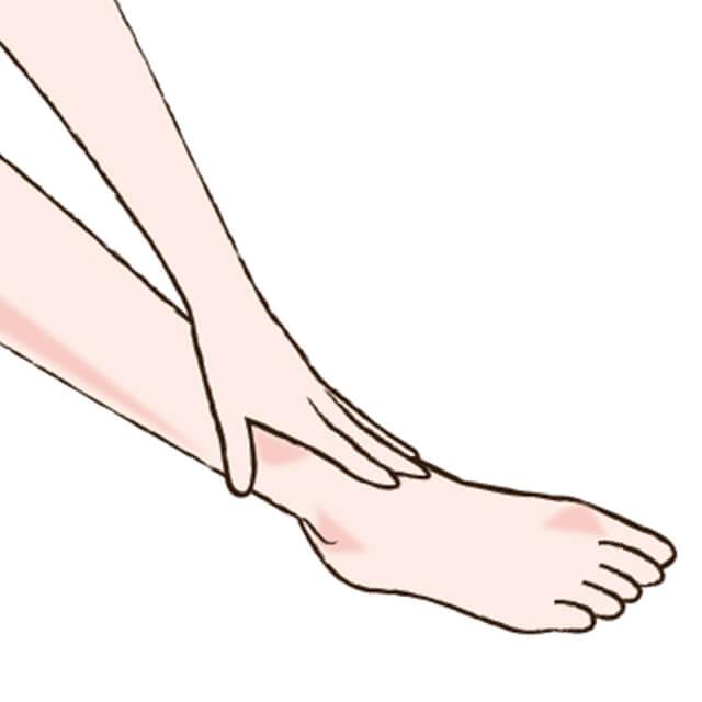 足首をすっきりさせよう!足首のむくみをとるマッサージ!-01
